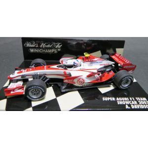 ミニチャンプス1/43 スーパー アグリ F1チーム A.デビッドソン '07ショーカー|marusan-hobby