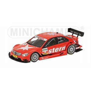 ミニチャンプス1/43 メルセデスベンツ Cクラス (2008) チーム シュテルン AMG  メルセデスベンツ MATTHIAS LAUDA DTM 2009|marusan-hobby