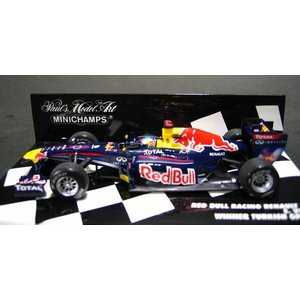 ミニチャンプス1/43 レッド ブル レーシング ルノー RB7 S.ベッテル トルコGP ウィナー 2011|marusan-hobby