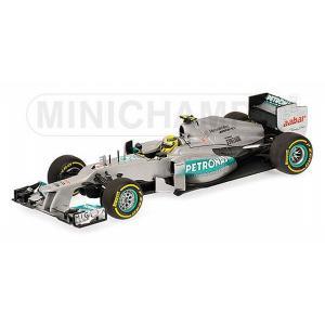 ミニチャンプス1/43 メルセデス AMG ペトロナス F1チーム W03 N .ロズベルグ 201...