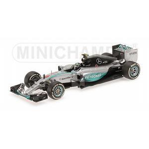 ミニチャンプス1/43 メルセデス AMG ペトロナス F1チーム W06 ハイブリッド N.ロズベ...