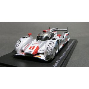スパークモデル1/43 アウディR18 e-tron quattro アウディスポーツチーム ヨースト 2012年ル・マン24時間 #1 優勝|marusan-hobby