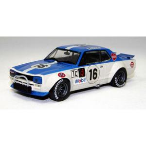 エブロ(ebbro)1/43ニッサン・スカイラインGT-R KPGC10レーシング#16'73