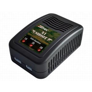 AC バランス充電器 [ X1 シュート ] ハイテック 44286|marusan-hobby