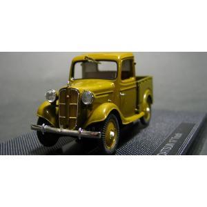 """エブロ(ebbro)1/43 ダットサン17型 トラック""""ブラウン"""""""