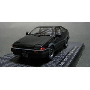 """エブロ(ebbro)1/43 トヨタ・スプリンタートレノ AE86[アロイホイール]""""ブラック"""""""