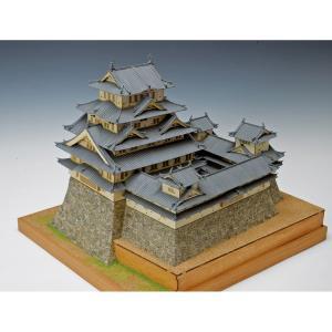 姫路城(国宝)【ウッディージョー:1/150 木製建築組立キ...