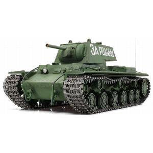 ■メーカー名:タミヤ ■ラジコン戦車組立キット ■ドイツ軍を震え上がらせたソビエトの傑作重戦車KV-...