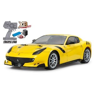 XB フェラーリ F12tdf(TT-02シャーシ) タミヤ 57902 (1/10完成電動RCセット)|marusan-hobby