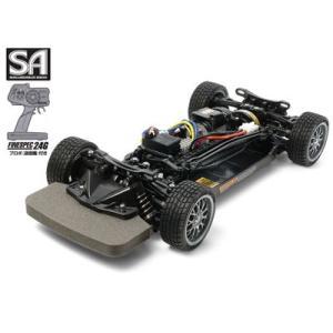 1/10RC SA 4WDレーシングカー 完成シャーシセット (TT-02シャーシ プロポ付)タミヤ 57984|marusan-hobby