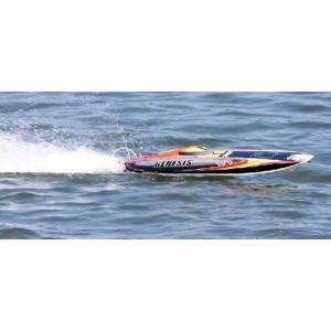 ジェネシス ABC:59720 ブラシレスモーター仕様 完成電動ボートRCボートキット|marusan-hobby