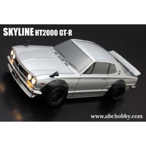 <バリバリCUSTOM!!>ニッサン・スカイライン HT2000 GT-R オーバーフェンダーVer. ABC 66132|marusan-hobby