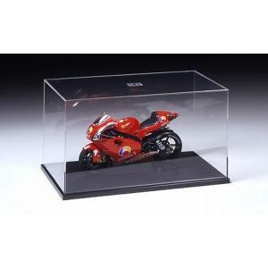 タミヤ  ディスプレイケースD 1/12バイクモデル対応 プラスチック製 (PS台座) W240×D...