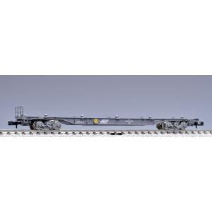 予約受付中!TOMIX  8703  JR貨車 コキ106形(グレー・コンテナなし・テールライト付)...