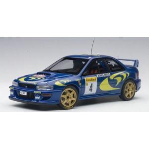 オートアート(AUTOart)1/18 スバル インプレッサ WRC 1997 #4 (リアッティ/ポンス) モンテカルロ優勝|marusan-hobby