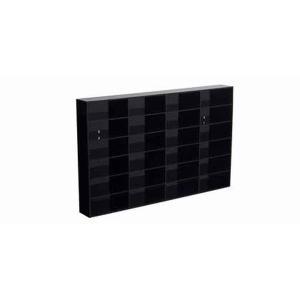 オートアート(AUTOart) ディスプレイケース 1/43 ×24台用 (ブラック) スライドドア無|marusan-hobby