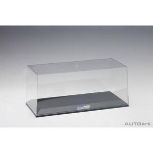 オートアート(AUTOart)スペシャル・ディスプレイケース 1/18スケール×1台用 「湾岸ミッドナイト」 (ブルー) 90045|marusan-hobby