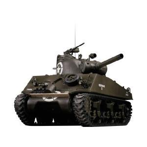 M4A3 シャーマン(105mm砲塔)BB ハイテック A03102328・1/24 27MHz BB弾仕様バトルタンク