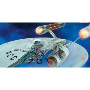 AMT スタートレック 1/537 スタートレック 宇宙大作戦 USS エンタープライズ カットアウェイ(内部再現)モデル|marusan-hobby
