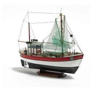 レインボー フイッシングボート  1/60 組立キット (デンマークbillingビリング社製 BB201)|marusan-hobby