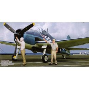 サイバーホビー 1/72 WW.II アメリカ海軍 F6F-3 ヘルキャットw/デッキクルーフィギュア|marusan-hobby