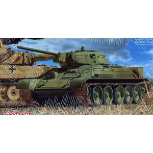 サイバーホビー 1/35 ソビエト軍 T-34/76 第112工場 「クラスナエ・ソルモヴォ」後期型