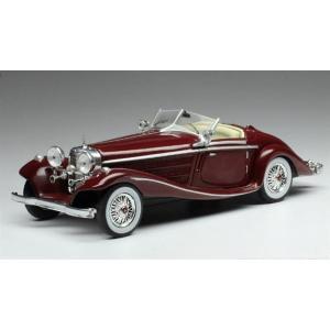 予約受付中!  イクソ 1/43 メルセデス・ベンツ 540K スペシャルロードスター 1936 ボ...