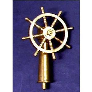 舵輪(スタンド付) 40mm  〔コーレル:R-24 船舶模型船用パーツ〕