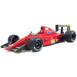 予約受付中!トップマルケス 1/18  フェラーリ 641/2 #1 A.プロスト 完成ミニカーレジ...