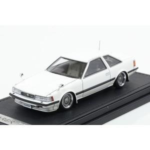 イグニッションモデル  1/43 トヨタ ソアラ 2800GT (Z10) ホワイト ミニカー完成品|marusan-hobby