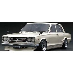 予約受付中!1/18 日産 スカイライン 2000 GT-R (PGC10)  ホワイト (ハコスカ4ドア)  イグニッションモデル IG1784  (11月) marusan-hobby