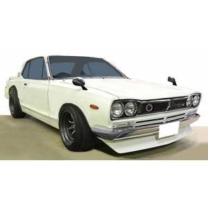 予約受付中!イグニッションモデル 1/43 日産 スカイライン 2000 GT-R (KPGC10) ホワイト / ハコスカ    (レジン製)   IG1930   完成ミニカー|marusan-hobby