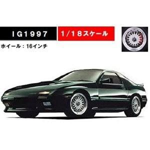 予約受付中!イグニッション  IG1997  1/18スケール  マツダ サバンナ RX-7 インフ...