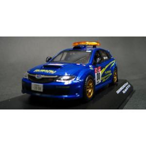 京商1/43 スバル・インプレッサWRX/ 0 Car(No.0) ラリージャパン2007 小西重幸(ブルー)|marusan-hobby