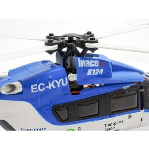 6CH ブラシレスモーター3D6Gシステムヘリコプター [K124]RTFキットXK(ハイテック)K124|marusan-hobby|05