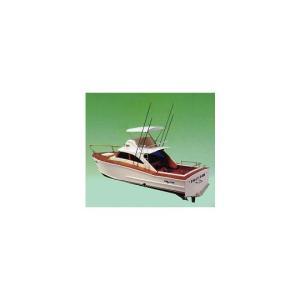 フイリー X-150艤装船具セット付 【KNK:R・C ゼノア260ガソリンボート木製組立キット】 marusan-hobby