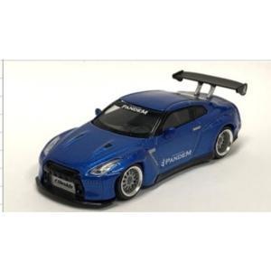 予約受付中!MINI-GT  MGT00096-R  1/64スケール  日産 Pandem GT-...
