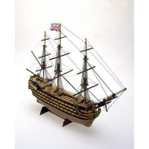 マモリmamoli:MM12 1/325 HMSビクトリー(イギリス海軍の第一級戦列艦)【木製帆船組立キット】|marusan-hobby