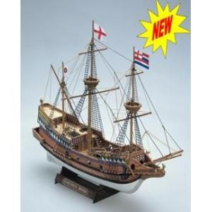 ゴールデンハインド  1/110   ミニマモリシリーズMM71木製帆船組立キット|marusan-hobby