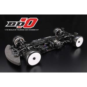予約受付中!ヨコモ 1/10 競技用 電動RCツーリングカー組立キット  BD10