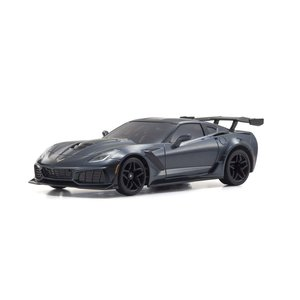 シボレー コルベット ZR1 (グレーメタリック)  ミニッツオートスケールボディ 京商 MZP24...