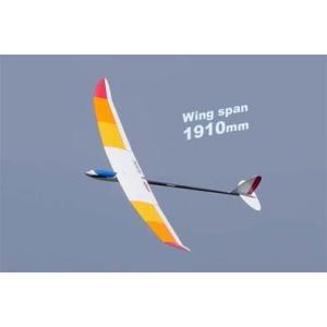 ジャスミン DX デラックス   エルロン フラップ機  (BLモーター/折ペラ付) 〔OK:11304 RC電動グライダーフィルム貼り完成組立キット〕|marusan-hobby