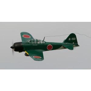 電動ゼロ戦  OK:12143  電動RC飛行機レーザーカットバルサキット|marusan-hobby