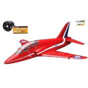 ■OK模型■RC飛行機フィルム貼完成機 『BAEホーク』  【ラジコン電動ジェット】