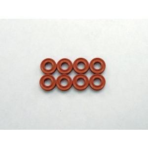 X断面型 Oリング(P3/ダンパー用/オレンジ)8ヶ入 京商 ORG03XR