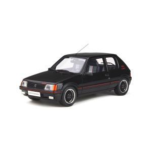OttO mobile 1/18 プジョー 205 GTI  グットマン  (ブラック) OTM79...