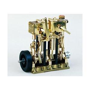 斉藤製作所 エンジン T2DR 複動2気筒スチームエンジンの商品画像|ナビ