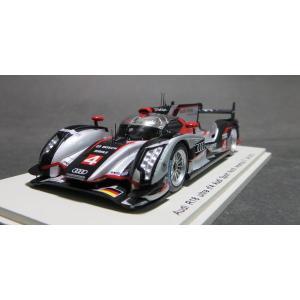 スパークモデル1/43 アウディR18 ultra アウディスポーツ ノースアメリカ 2012年ル・マン24時間 #4 3位|marusan-hobby