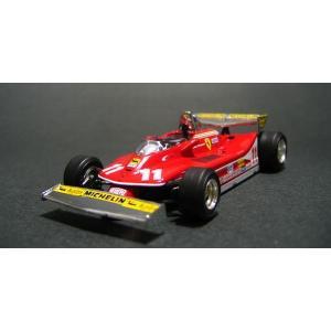 """イクソ(ixo)1/43フェラーリ312T4#11""""J.シェ..."""