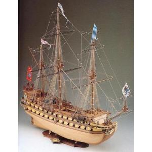 送料無料!! 1/73  ミラージュ (コーレル:SM10) 【木製帆船組立モデル】